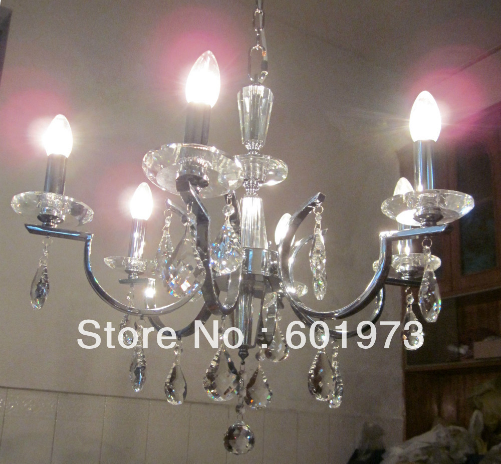 Best Dining Room Chandeliers: Free Shipping Best Seller Asfour Crystal Candle Light Chandelier For Dining Room, Reading Room