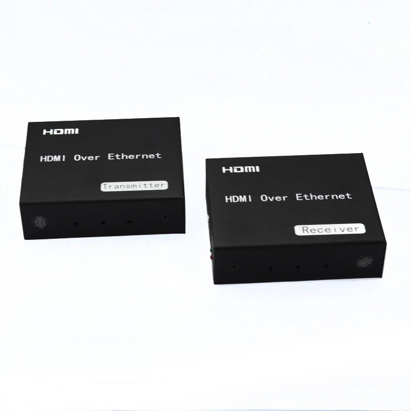 Фотография HDMI Extender adapter Ethernet cable connector single-wire 120m TCP/IP standard IR remote control support HDTV 1080P HDCP