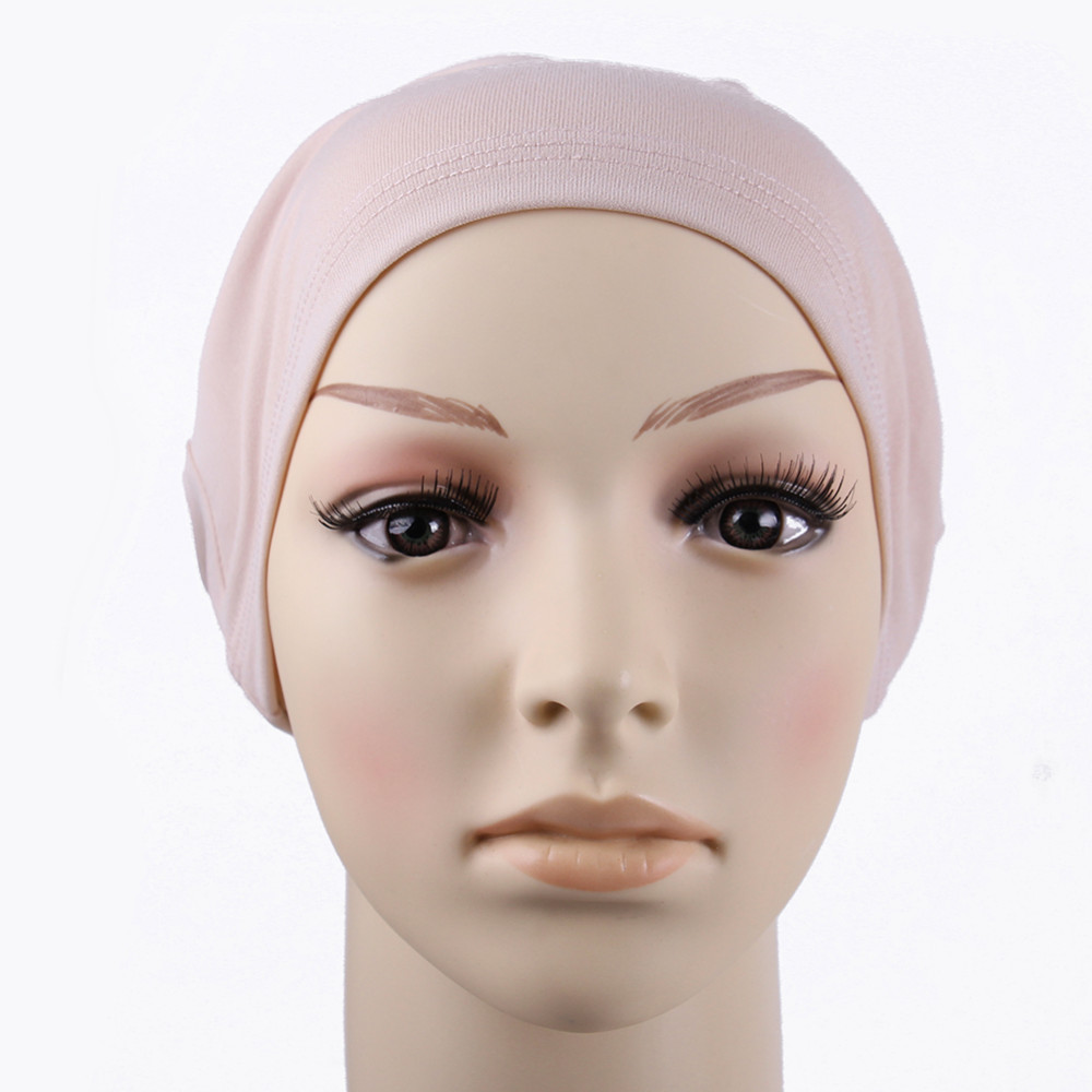 muslim scarf women New Arrivel Stretchy  Islamic Hijab Scarf Turban Headwrap Ninja  Underscarf caps brand scarf women