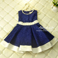 Aamina Flowers party wear kids dress Winter Autumn baby girls dresses christmas costumes kids clothes