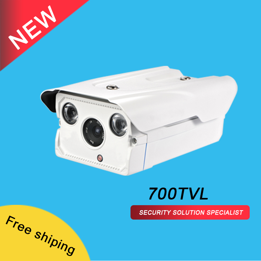 Waterproof/weatherproof IP66  Sony Effio-E CCD sensor  700TVL  two wafer H.LEDS  4/6/8/12mm  CCTV Camera<br><br>Aliexpress