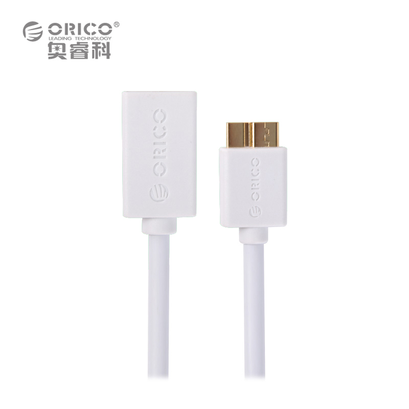 ORICO COR3-15 usb 3.0 cable A Male to Micro USB OTG Data Cable with Length 15cm for SAMSUNG Note3 - Black / White(China (Mainland))