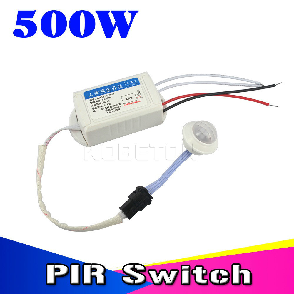 High Quality Pyroelectric Infrared PIR IR Module Body Induction Sensor Intelligent Auto Light Motion Sensing Switch