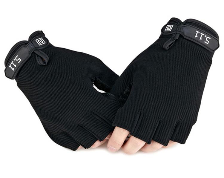 Men Women Black Colour Gym Gloves Half Finger Multifunction Weight Lifting Anti-slip Gloves S.P.F.121803 Free Shipping<br><br>Aliexpress