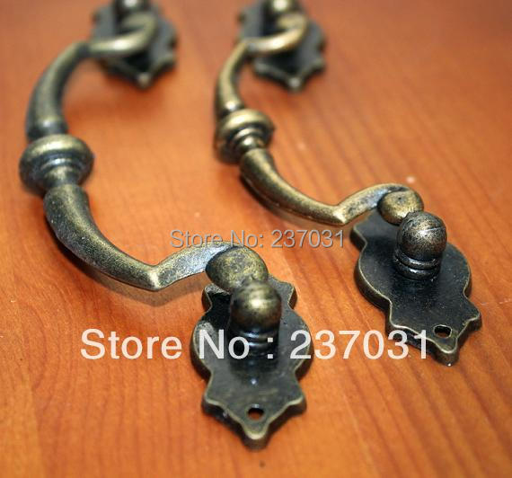 Gift Hardware Antique handle / alloy drawer handle / cabinet handle 142 mm(China (Mainland))