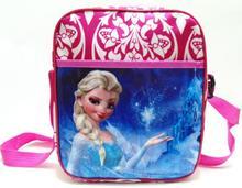 Новый Снежная Королева анна эльза милый мультфильм сумки и мешок школы Снежная Королева кукла, мешок(China (Mainland))