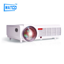 Big Discount BT96 5500lumens Video HDMI USB 1280×800 Full HD 1080P Home Theater 3D LED projector Projetor proyector beamer