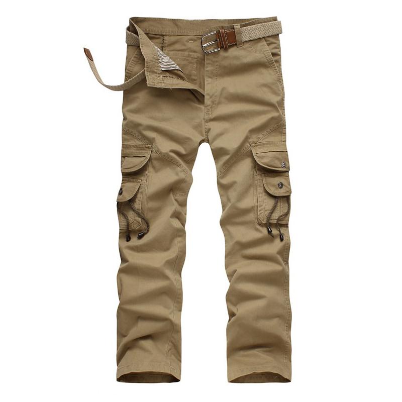 Baggy Khaki Cargo Pants For Men Pants Men Khaki Trousers