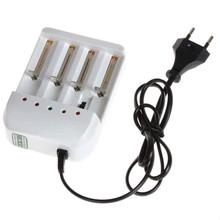 4 Port Gradually Adjustable Universal Battery Charger for 26650 18650 14500 10440 AA AAA rechargeable battery -SAA/US/UK/EU Plug