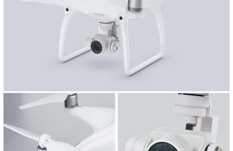 Original DJI Phantom 4 with 4K Camera Drones Photographer Quadcopter Helicopter FPV Photography With Two Extra Batteries