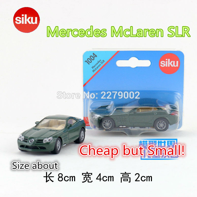 SIKU/Die Cast Metal Models/The simulation toys:the Mercedes McLaren SLR /for children's gifts or for collections/very small(China (Mainland))