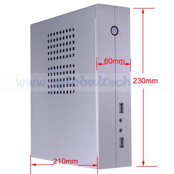 4GB DDR3, 320GB HDD, Min PC i3 Windows XPE, Windows 7, Linux, Mini ITX Server Computer