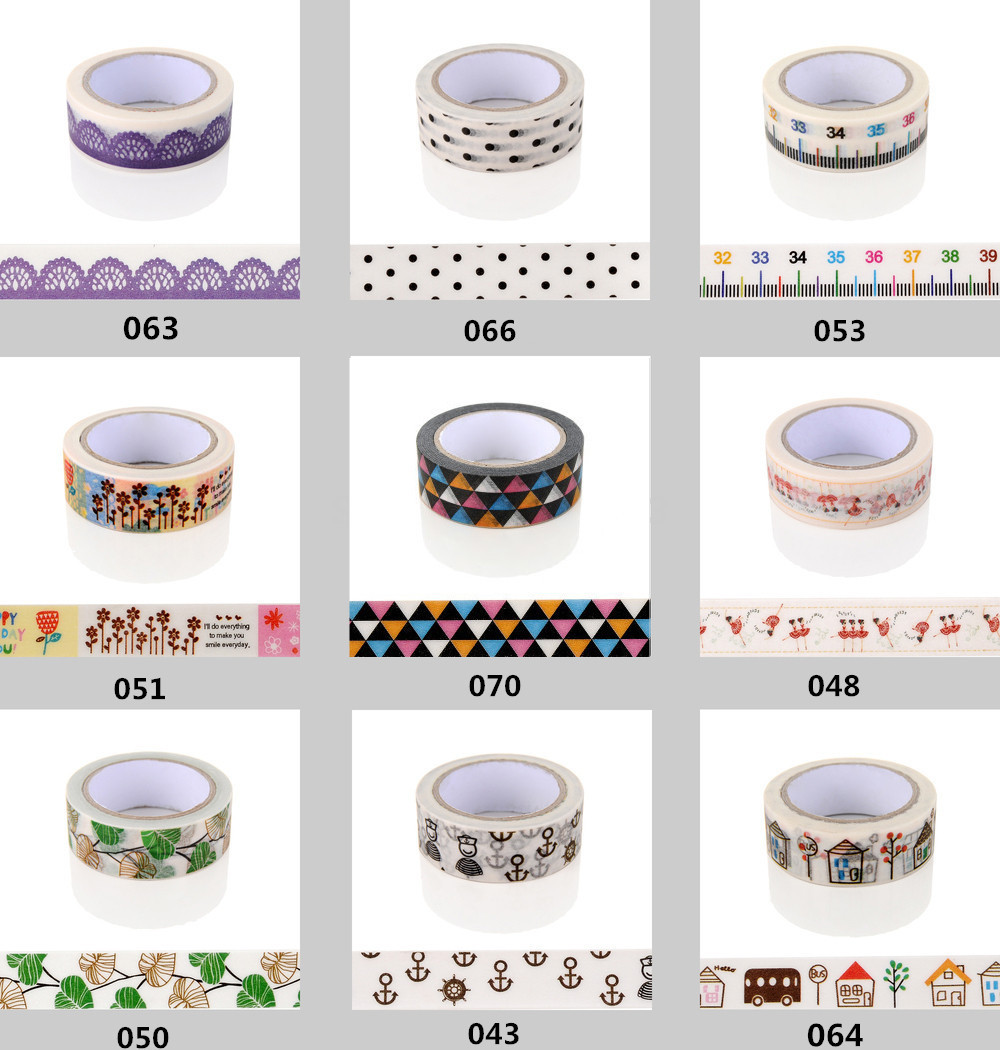 TOP Best Selling for Decorative Adhesive Paper Tape and Flower Designs Japanese Washi Tape Wholesale 20pcs/lot(China (Mainland))