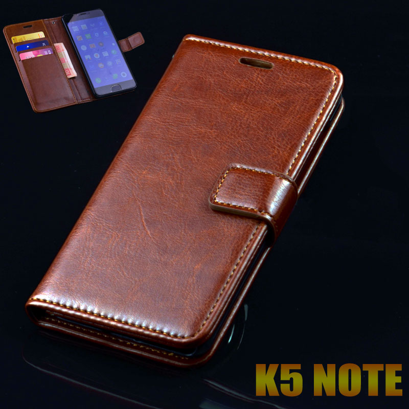 lenovo k5 note case cover luxury leather flip Phone Bags lenovo k5 note ultra thin Business wallet Phone Bags Case cover