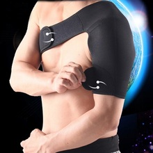 professional sports shoulder brace support adjustable single-side shoulder protector bandage for volleyball basketball badminton(China (Mainland))