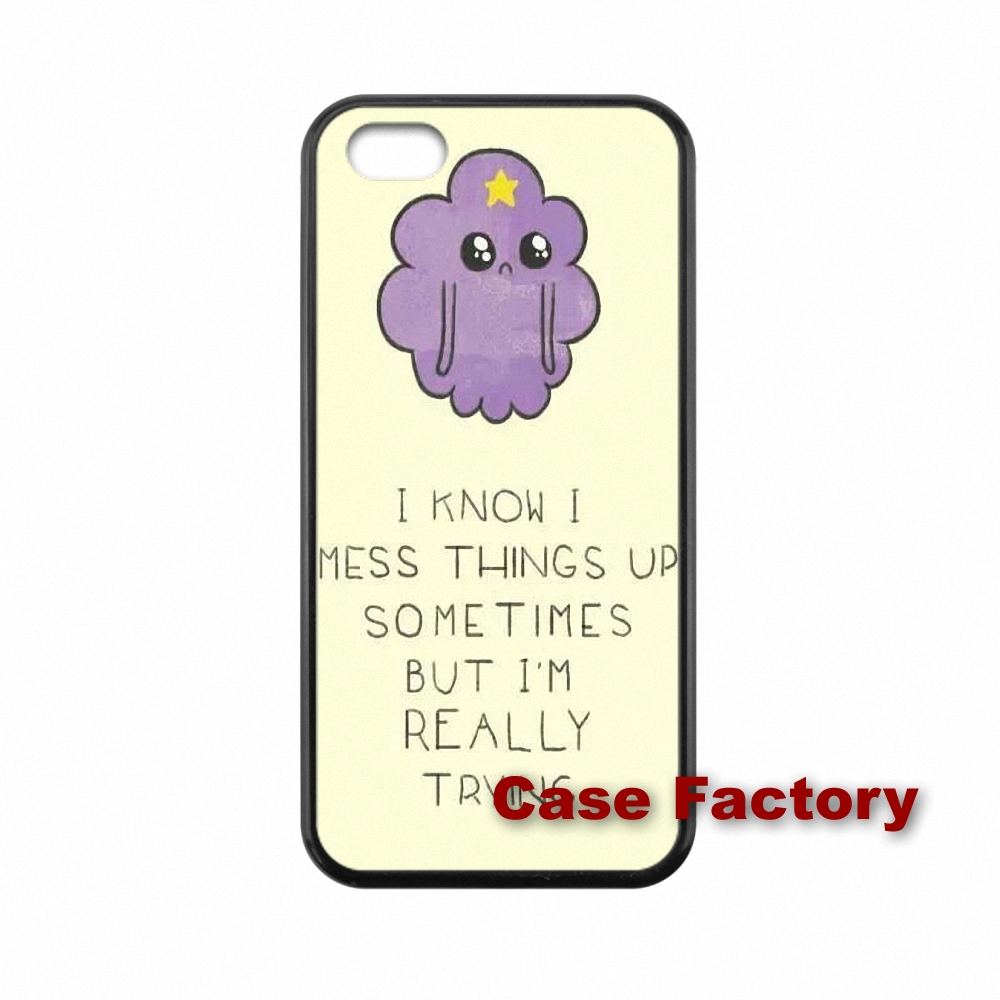 Adventure Time Lumpy off Space Princess For Samsung S2 S3 S4 S5 S6 S7 edge Moto X1 X2 G1 G2 Razr D1 D3 HTC phone cases(China (Mainland))