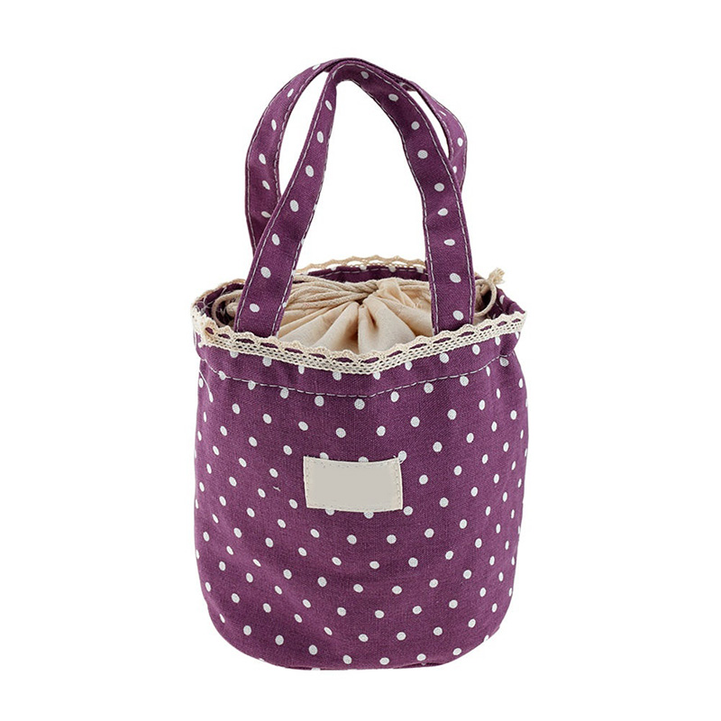 Home Storage Organization Bag Girls Kids Canvas Thermal Insulated Lunch Box Tote Cooler Bento Picnic Pouch Storage Bag Hot Sale(China (Mainland))