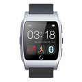 Fashion Ux Metal 1 44 Touch Smart Bluetooth Watch Heart Rate Message Calls Reminder Pedometer Compass