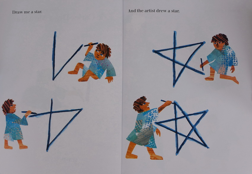 SMART LUXURY FREE SHIPPING English original story of Carle Eric Carle Draw Me a Star to draw a star to me