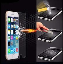 10Pcs/Lot Phone screen Protector Protective Film Pelicula De Vidro Tempered Glass For iphone 5 5s 5c 5g 6 6s Plus