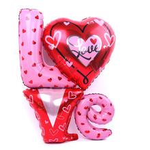 Valentýnska dekorácia – balónky LOVE