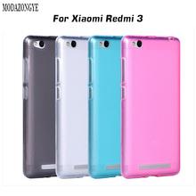 Buy Luxury Ultra Thin Soft TPU Case Xiaomi Redmi 3 Case 5.0 inch Silicon Protective Shell Back Cover Xiaomi Redmi3 Hongmi 3 for $1.35 in AliExpress store