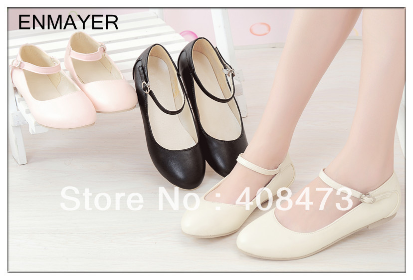 ENMAYER Free Shipping  Most Popular Portable Casual Shoes  Charming Flat Shoes For Women Flats<br><br>Aliexpress