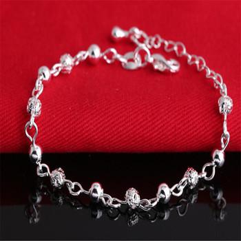 Изящные ювелирные браслеты 925 серебряный браслет мода браслеты для женщин браслеты ...