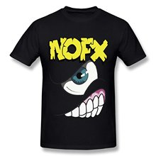 Buy Create Shirt Graphic Men Crew Neck Short Sleeve Zun Punk Rock Band Nofx Logo Cotton O-Neck T Shirt Mens Black Tees for $14.99 in AliExpress store
