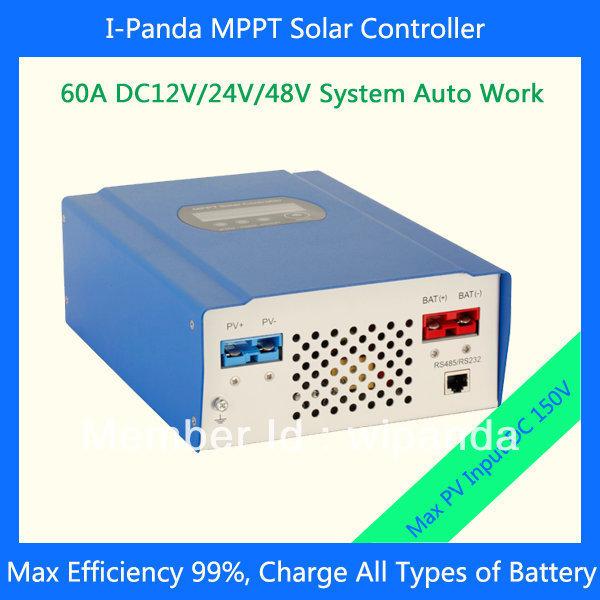 48V 60A efficient solar charger MPPT controller 12V/24V/48V auto work<br><br>Aliexpress