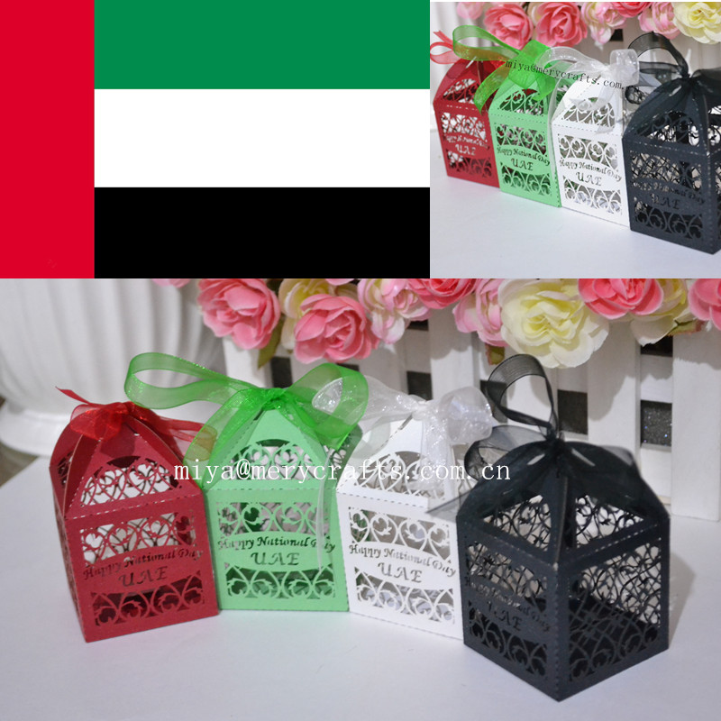 happy Holiday party favors box /all kinds of gifts box UAE national day box free shipping to UAE(China (Mainland))
