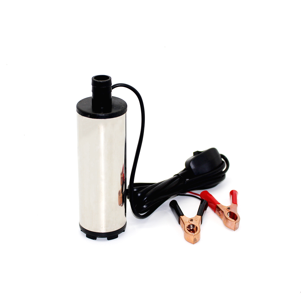 DC 12V electric fuel transfer pump 30L/Min Oil pump Submersible water diesel pump Diameter 51MM stainless steel(China (Mainland))