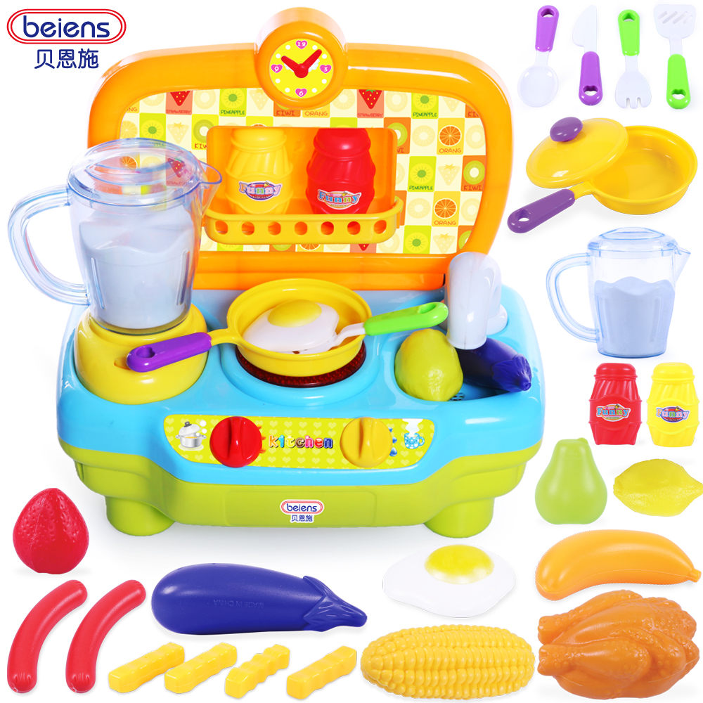 Cool child kitchen toy set baby educational toys set multifunctional kitchen toys set cooking toys set TY36(China (Mainland))