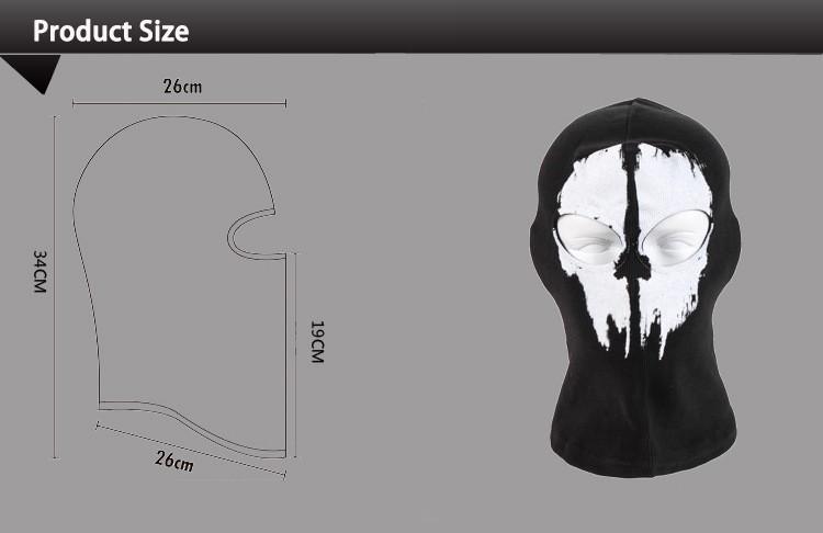 Coon Black Ghost Mask Skull Bike Cycling Motorcycle Ski Fishing Balaclava Cap 11