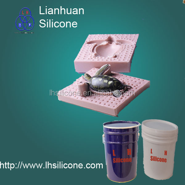 RTV liquid moulding silicone rubber for concrete/ PU resin/ gypsum casting(China (Mainland))