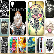 New Arrival Perfect Design Colored Paiting Back Cover Case For HTC Desire 626 626G 626G+ Phone Cases For HTC 626(China (Mainland))