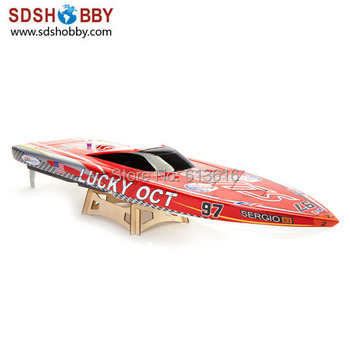 Lucky Oct 880mm Electric Brushless Racing Boat 1126 with 3660 Motor, 120A ESC