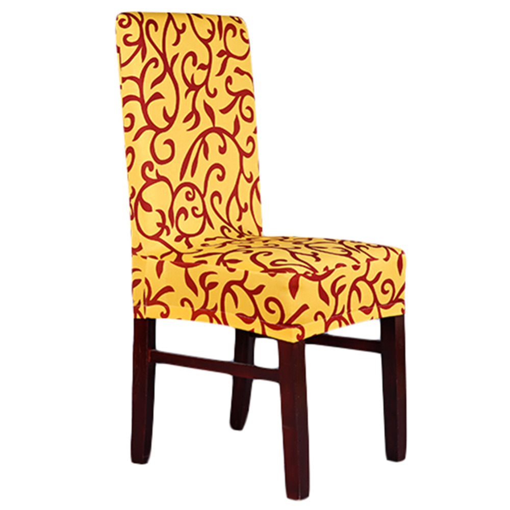 new spandex 11 colors stretch dining chair cover hotel