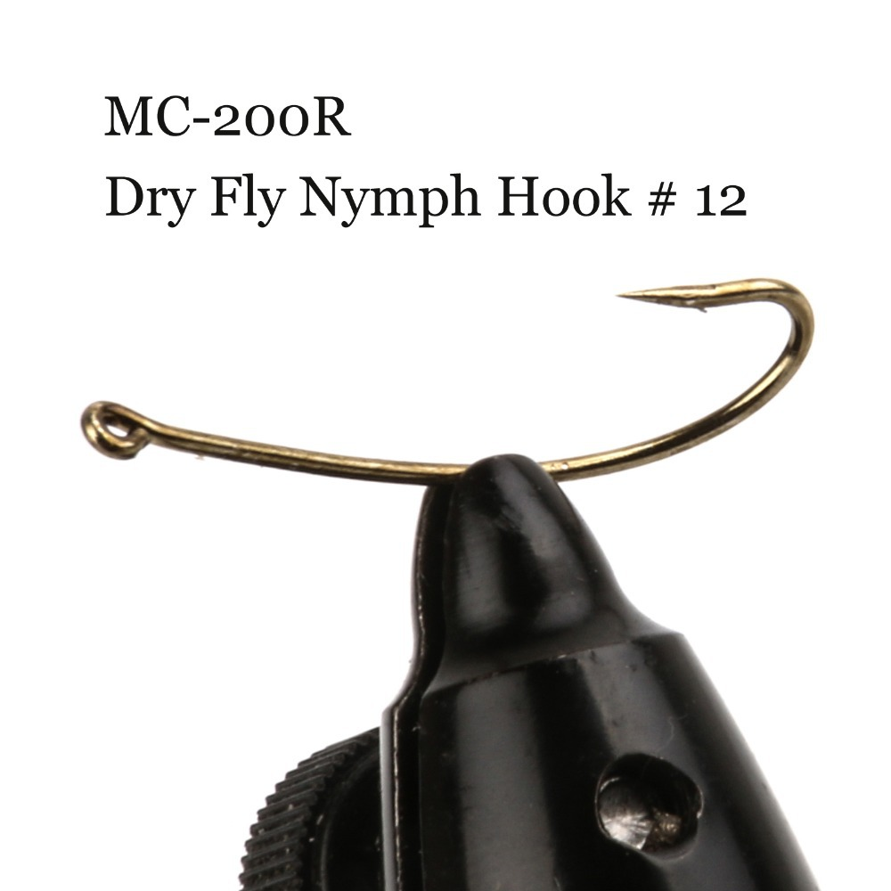 500 Pieces Mc 200r Size 12 Nymph Fly Tying Hook Dry Fly