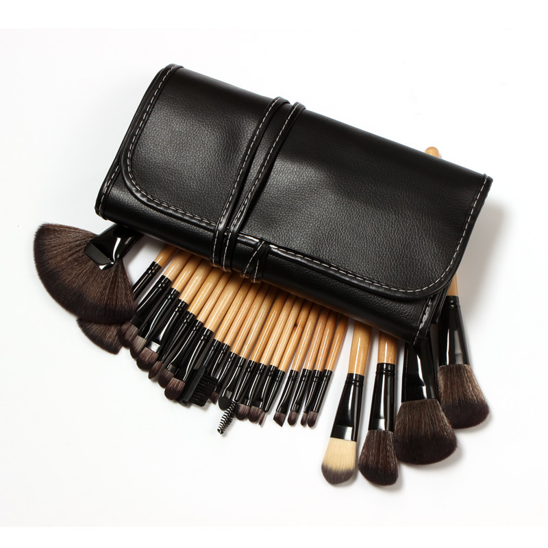 24Pcs Brushes Makeup Set Brushes Set Tools Portable Full Cosmetic Brush Tools Makeup Accessories