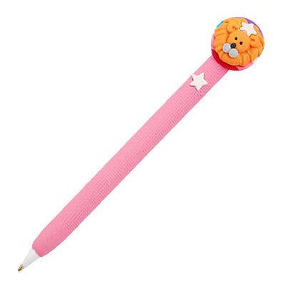 Pink Handle Leo Ballpen Ballpoint Writing Pen Black Ink<br><br>Aliexpress