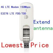 Unlocked huawei E3276s-150 4g LTE modem 100mbps lte 4g usb dongle 4g adapter pk E3276 r212 e5372