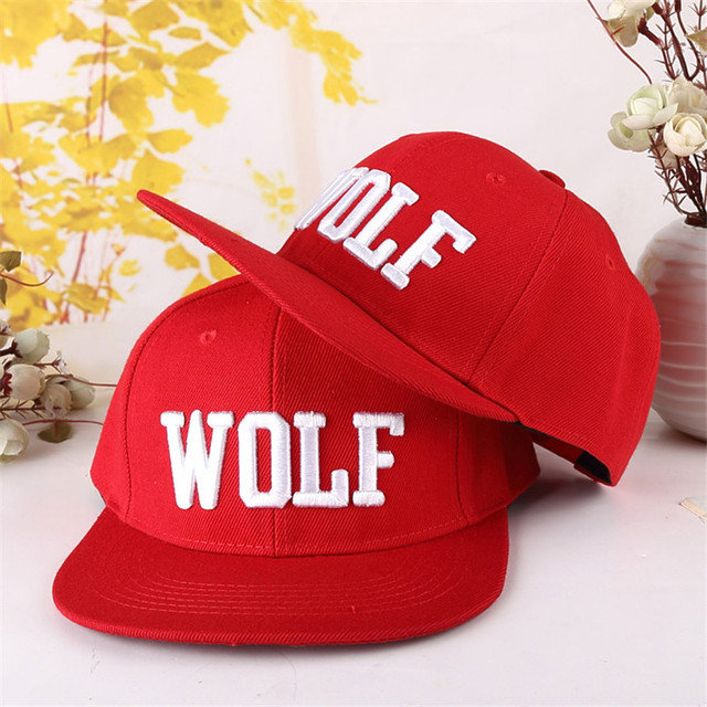 EXO WOLF Visors cowboy cap baseball cap Таз-hop cap sun hat peaked cap casquette sunbonnet  2015 HOT SELL SUMMER AND SPRING