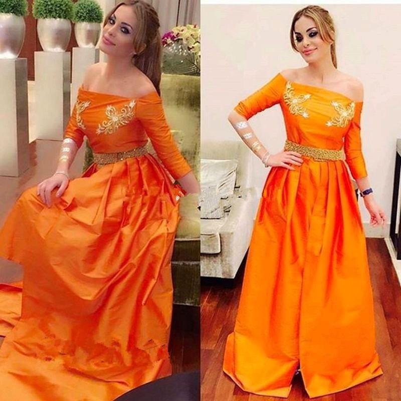 Zz64 Garishly лодка шеи половина рукавом платья выпускного вечера 2016 красивые пола аппликации ну вечеринку девушка платье пром платья