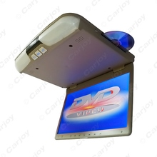 """Bus Car 15.6"""" 15.6 inch Roof Mount LCD Monitor with Built-in DVD Player FM USB/SD Solt 3-Color Gary Black Beige #CA4101(China (Mainland))"""