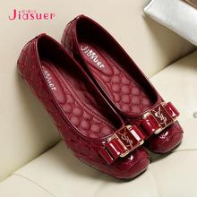 2015  Autumn Driving shoes woman famous brand Leather linen weave slip on ballet slippers moccasins Flats 308-263(China (Mainland))