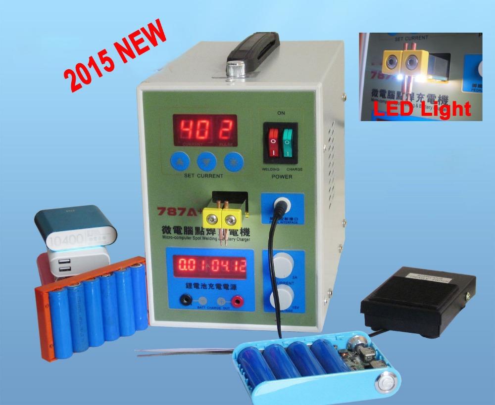 Rechargeable Batteries Welder Pulse Battery Spot Welder