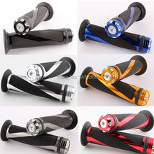 "MOTORCYCLE ALUMINUM 7/8"" HANDLEBAR RUBBER HAND GRIP 22MM MOTORCYCLE GRIPS(China (Mainland))"
