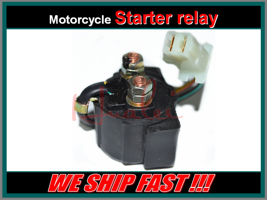 Free Shipping ATV Motorcycle Electrical Parts Starter Solenoid Relay For YAMAHA TRI-MOTO 225 YTM225 1983-1986(China (Mainland))