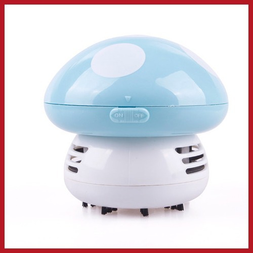 bidward Mini Cute Mushroom Keyboard PC Desk Desktop Laptop Dust Collector Vacuum Cleaner 24 hours dispatch(China (Mainland))